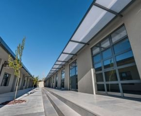 Extended office premises in Athens