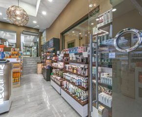 Pharmacy of A. TAOUIL in Syntagma square, Athens
