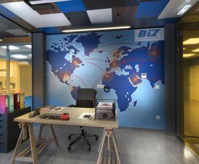 Ανακαίνιση χώρων γραφείων της BIZ LOGISTICS στο Κορωπί